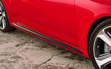 Audi RS4 Avant side sills