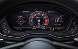 Audi RS4 Avant virtual cockpit