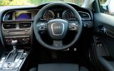 Audi RS5 driver's seat