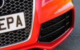 Audi RS5's air intake