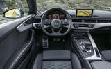 Audi RS5 dashboard