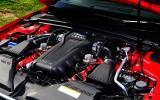 Audi RS5's 4.2-litre V8 engine