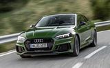 Audi RS5 cornering