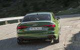 Audi RS5 rear cornering