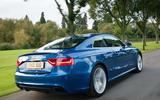 Audi RS5 rear end