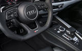 Audi RS5 steering wheel