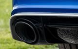 Audi RS6 twin exhaust system
