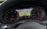 Audi RS6 instrument cluster