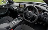 Audi RS6 dashboard
