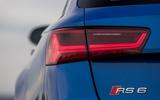 Audi RS6 rear LED headlights