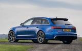 Audi RS6 rear quarter