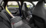 Audi RS6 rear seats