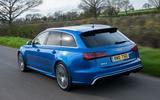 Audi RS6 Avant rear