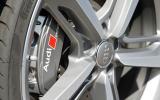 Audi RS7 Sport brake calipers