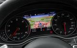 Audi RS7 instrument cluster