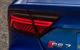 Audi RS7 LED rear lighting