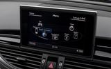 Audi RS7 MMI infotainment system