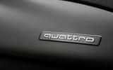 Audi RS7 quattro badging