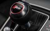 Audi RS7 badged gearknob