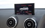 Audi S3 MMI infotainment system