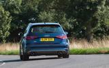 Audi S3 rear cornering