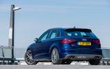 Audi S3 rear quarter