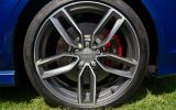 19in alloys on the Audi S3 Cabriolet