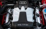 Audi S4's V6 engine block
