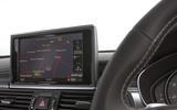Audi S7 MMI infotainment