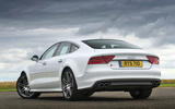 Audi S7 rear quarter
