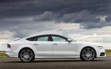 Audi S7 side profile