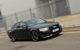 Audi S8 front end