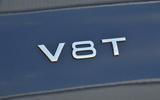 Audi S8 V8T badging