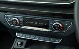 Audi SQ5 climate controls