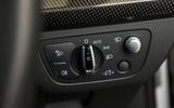 Audi SQ5 light controls