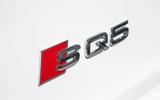 Audi SQ5 boot badging