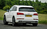 Audi SQ5 rear cornering