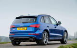 Audi SQ5 rear quarter