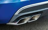 Audi Q7 quad exhaust system