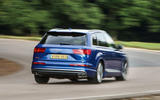 Audi SQ7 rear cornering