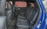 Audi SQ7 rear seats
