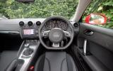 Audi TT driver's seat