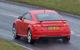 Audi TT RS rear cornering