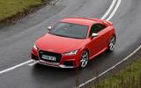 Audi TT RS cornering