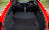Audi TT RS extended boot space