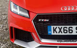 Audi TT RS badging