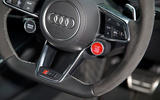 Audi TT RS starter ignition button