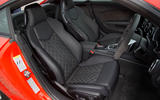 Audi TT RS quilted front seats