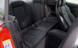 Audi TT RS rear seats