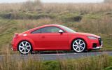 Audi TT RS side profile